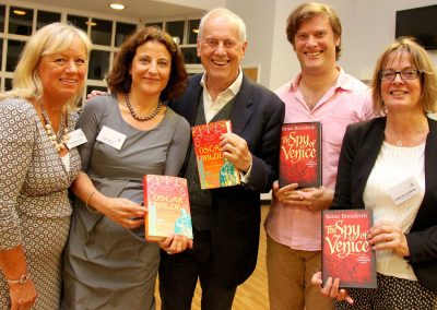 Gyles and Benet Brandreth at Cranbrook Literature Festival