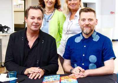 Julian Clary and David Roberts Cranbrook LIterature Festival.