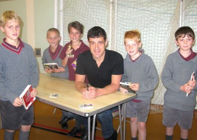 Tom Palmer at Somerhill School